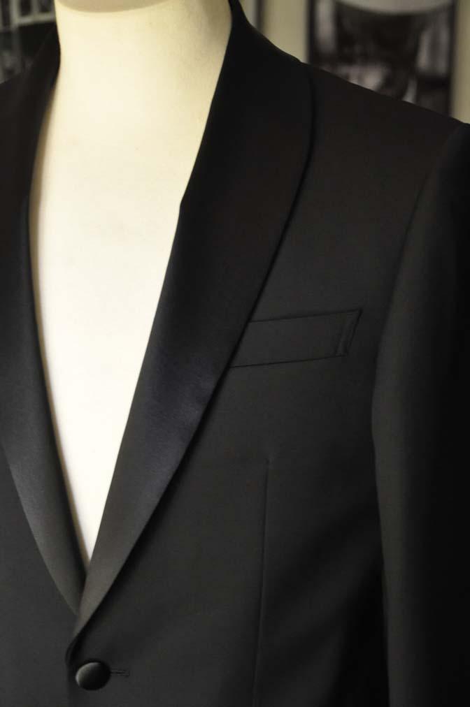 DSC07052 お客様のウエディング衣装の紹介-Biellesi ブラックショールカラータキシード-