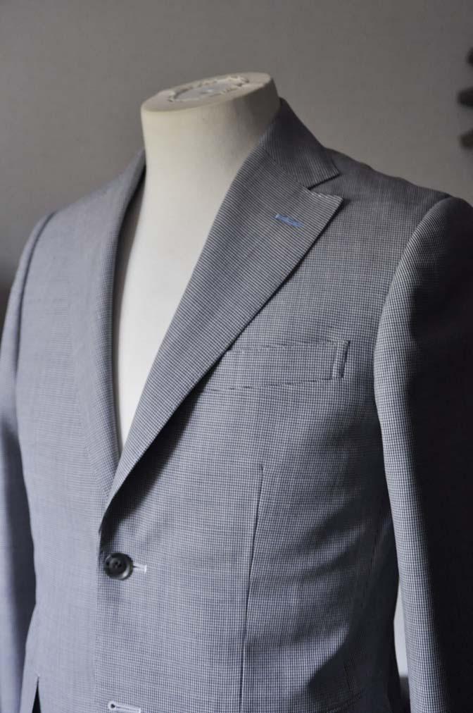 DSC0706-1 お客様のスーツの紹介- DARROWDALE千鳥格子スーツ-