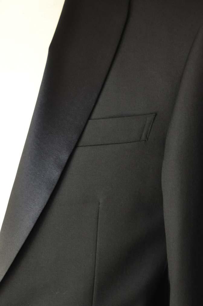 DSC07062 お客様のウエディング衣装の紹介-Biellesi ブラックショールカラータキシード-
