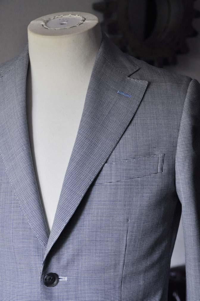 DSC0707-2 お客様のスーツの紹介- DARROWDALE千鳥格子スーツ-
