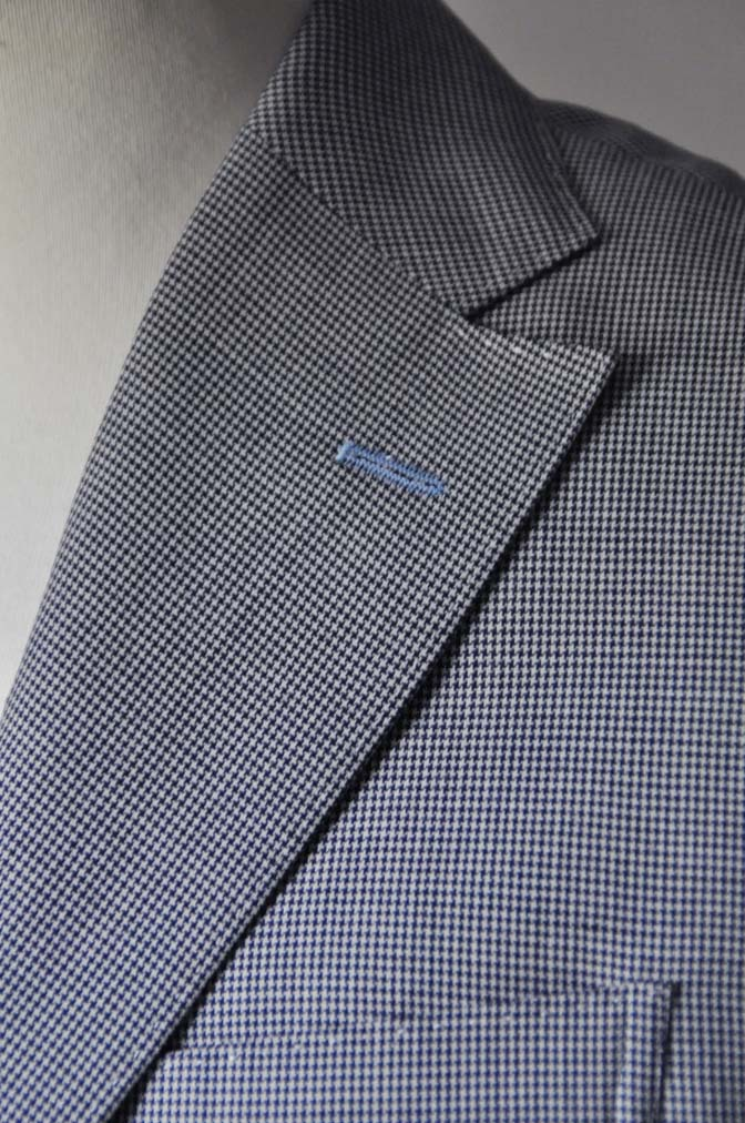 DSC0709-1 お客様のスーツの紹介- DARROWDALE千鳥格子スーツ-