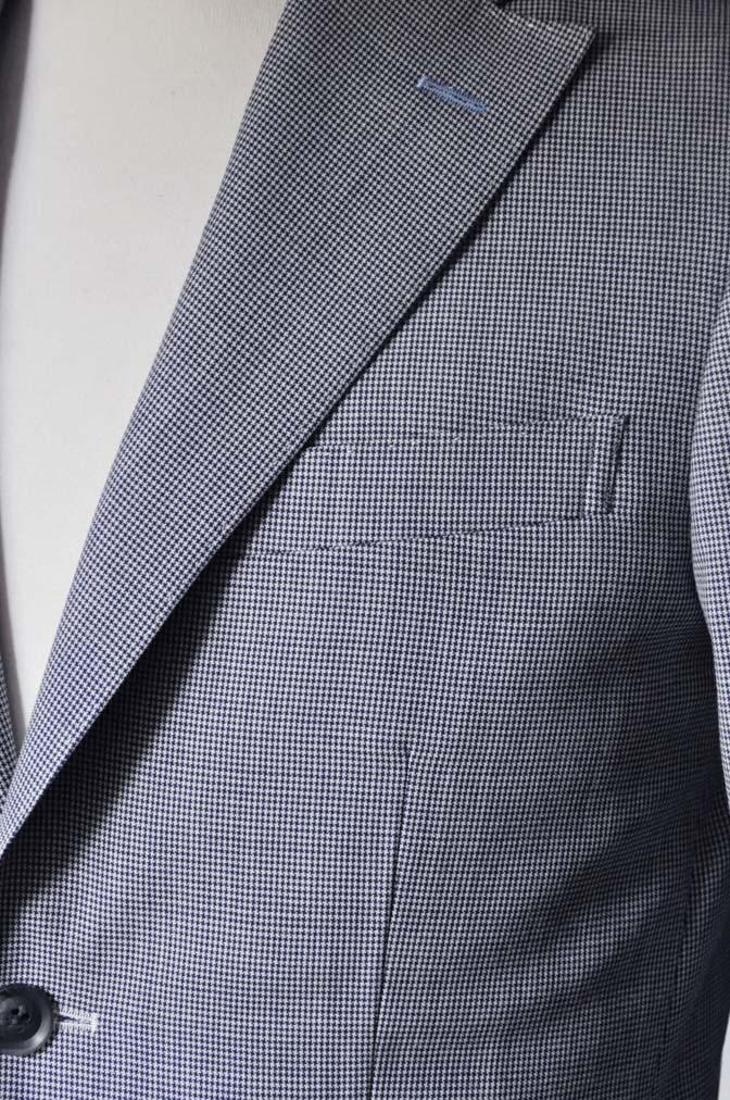 DSC0710-1 お客様のスーツの紹介- DARROWDALE千鳥格子スーツ-