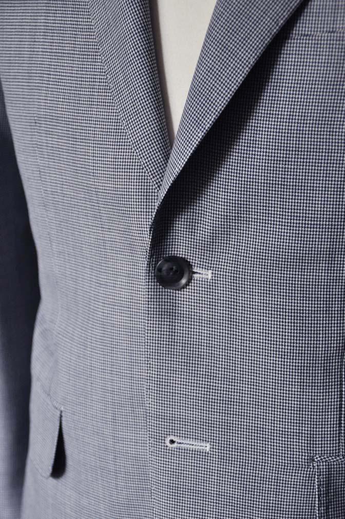 DSC0711-2 お客様のスーツの紹介- DARROWDALE千鳥格子スーツ-