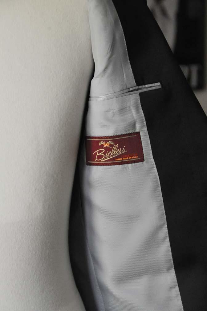 DSC07111 お客様のウエディング衣装の紹介-Biellesi ブラックショールカラータキシード-