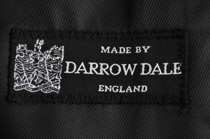 DSC0714 オーダースーツ-DARROW DALE チャコールグレーチェック-