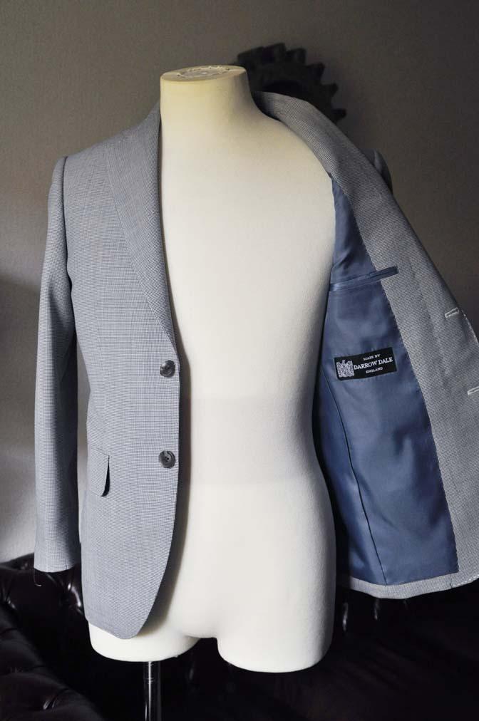DSC0715 お客様のスーツの紹介- DARROWDALE千鳥格子スーツ-