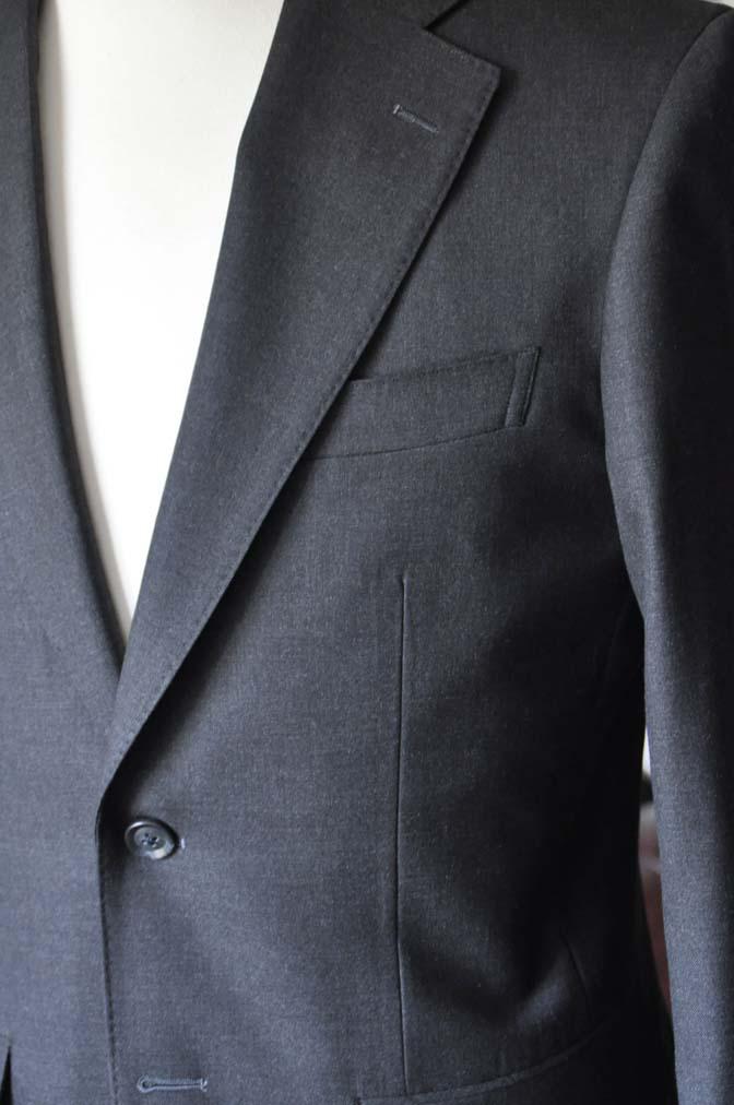 DSC0721-4 お客様のスーツの紹介-Biellesiチャコールグレースーツ-