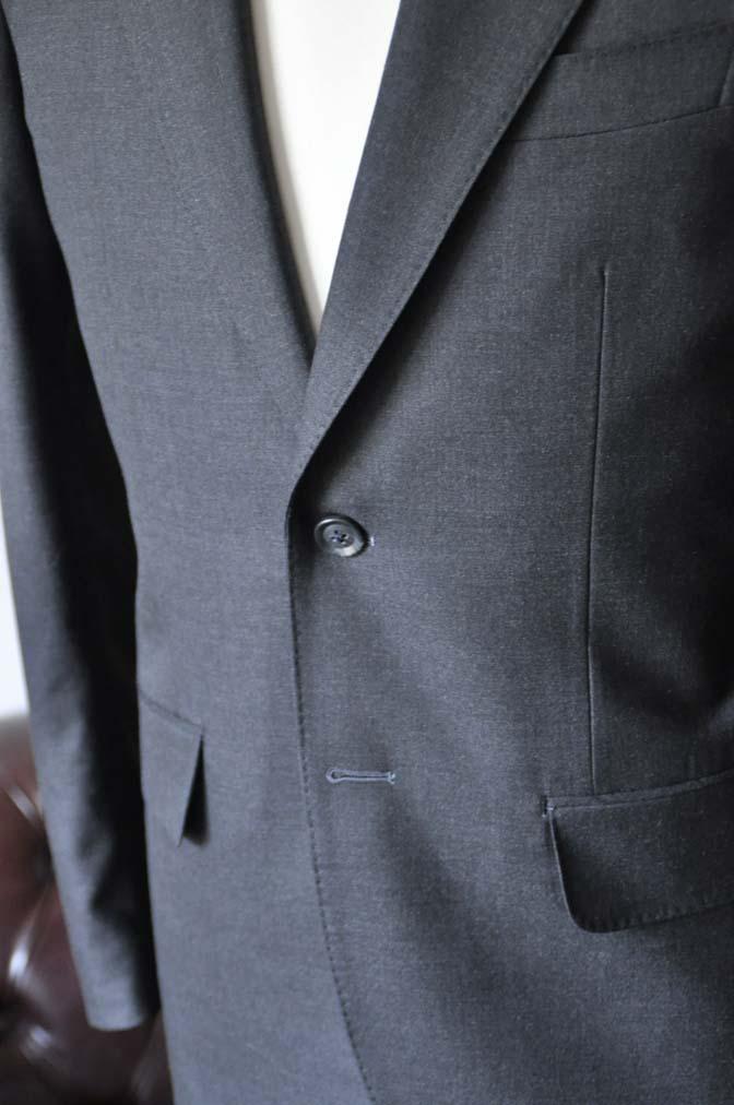 DSC0722-2 お客様のスーツの紹介-Biellesiチャコールグレースーツ-