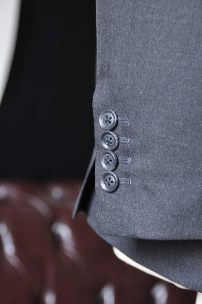 DSC0725-3 お客様のスーツの紹介-Biellesiチャコールグレースーツ-