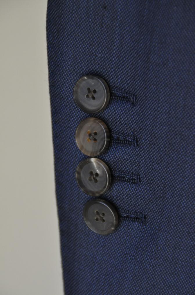 DSC0750 お客様のスーツの紹介-DORMEUIL KRONO 無地ネイビースリーピース-