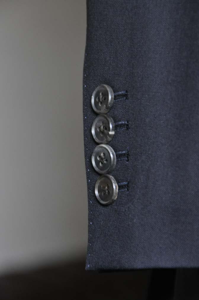 DSC0751-2 お客様のスーツの紹介- CAVENDISH ダークネイビー スリーピース-