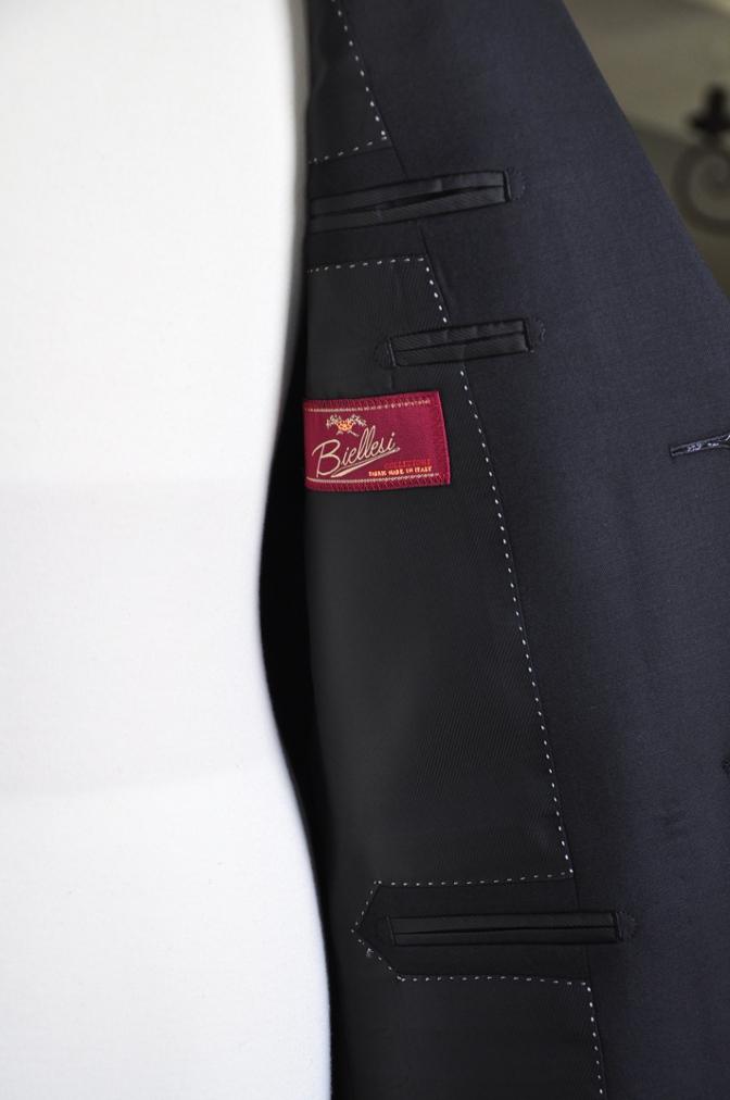 DSC07531 オーダースーツ-Biellesi ブラックスーツ-