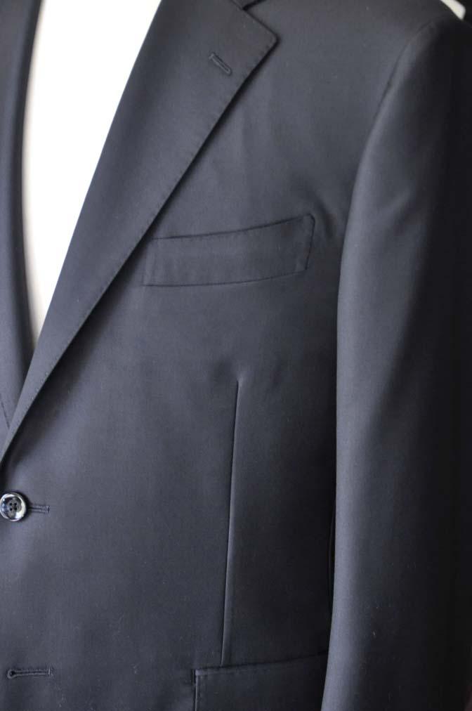DSC0767-2 オーダースーツの紹介-CANONICO無地ネイビースーツ- 名古屋の完全予約制オーダースーツ専門店DEFFERT
