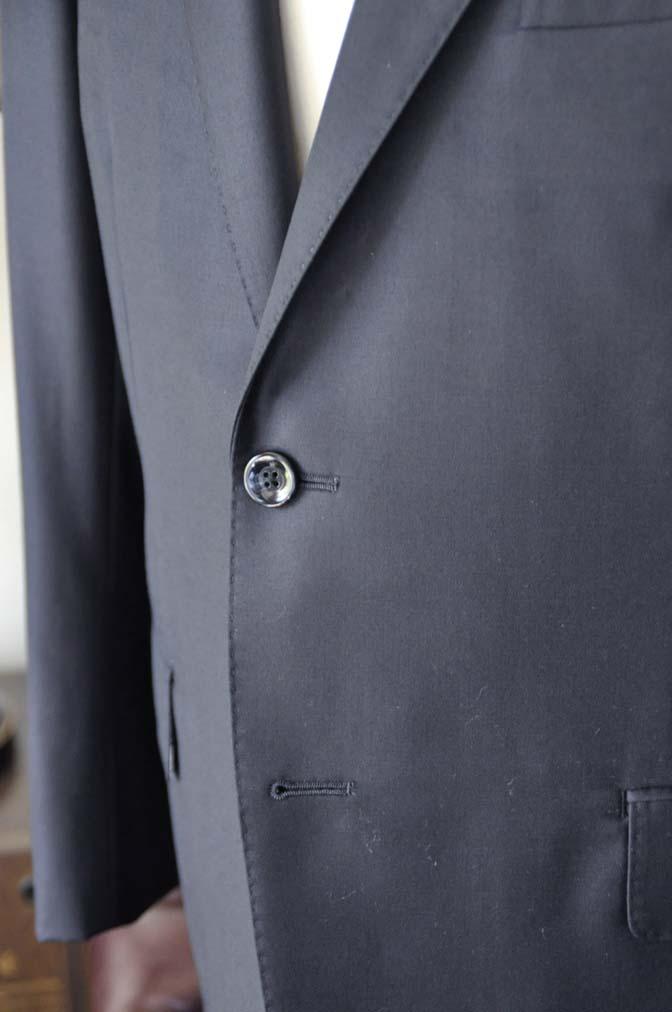 DSC0768-3 オーダースーツの紹介-CANONICO無地ネイビースーツ- 名古屋の完全予約制オーダースーツ専門店DEFFERT