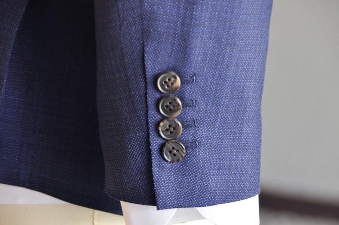 DSC0768-4 オーダージャケットの紹介-TALLIA DI DELFINO ネイビージャケット- 名古屋の完全予約制オーダースーツ専門店DEFFERT