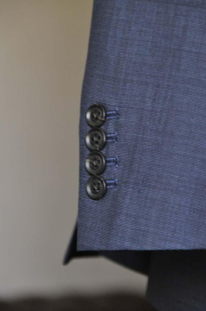 DSC0771-1 お客様のスーツの紹介- Biellesi 無地ネイビースリーピース- 名古屋の完全予約制オーダースーツ専門店DEFFERT