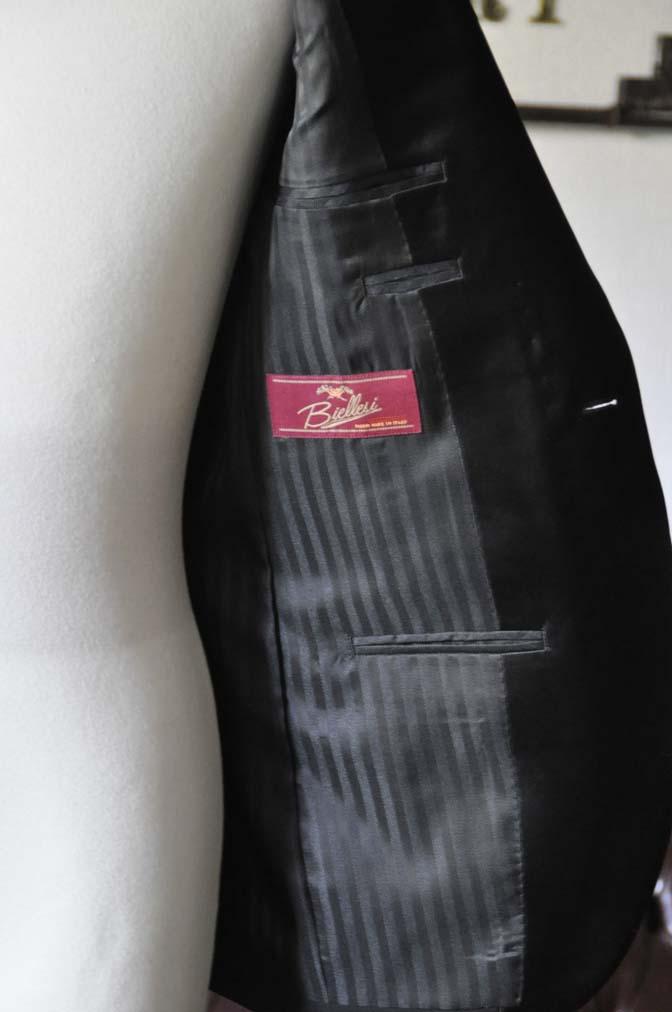 DSC0776-2 お客様のタキシードの紹介- Biellesiブラックショールカラータキシード-