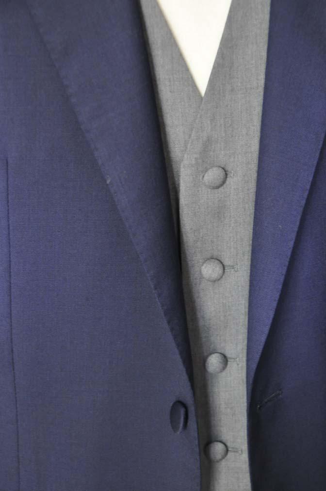 DSC07781 お客様のウエディング衣装の紹介-Biellesi無地ネイビー グレーベスト/グリーンチェックベスト-