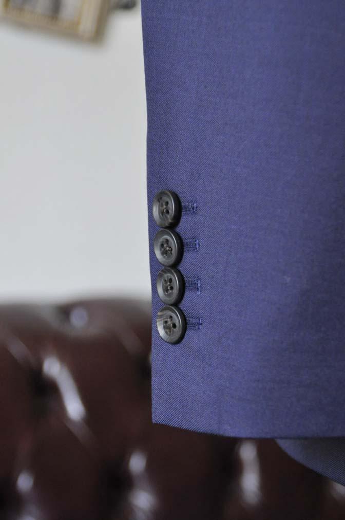 DSC0780-2 お客様のウエディング衣装の紹介- Biellesi無地ネイビースーツ ライトグレーベスト-