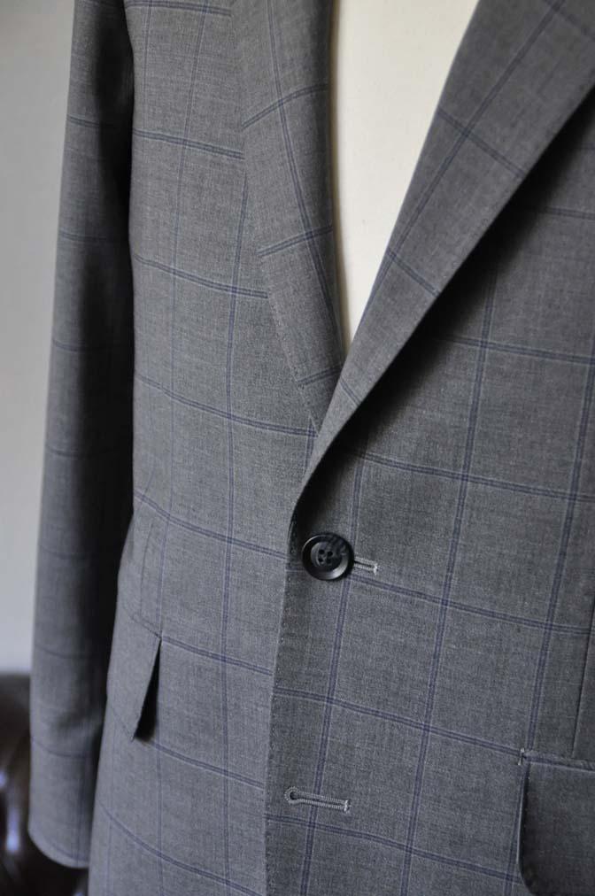 DSC0782-1 お客様のスーツの紹介- Biellesi グレーウィンドペン-
