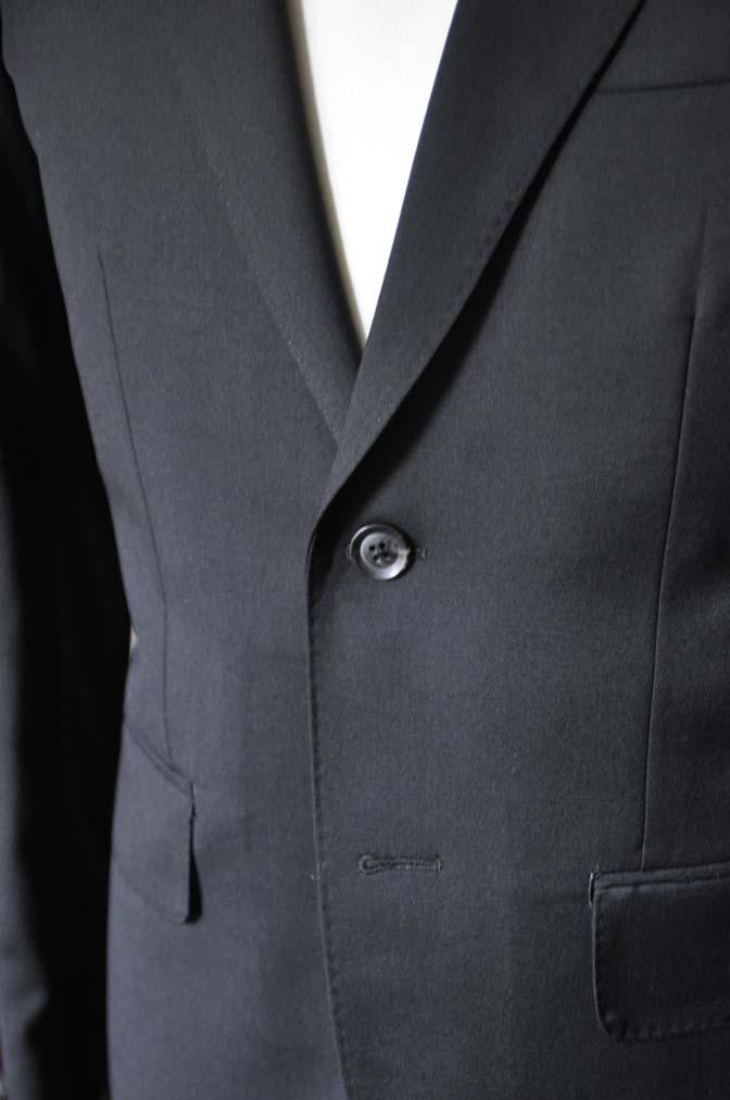 DSC0790-1 お客様のスーツの紹介- Biellesi ブラックスーツ-