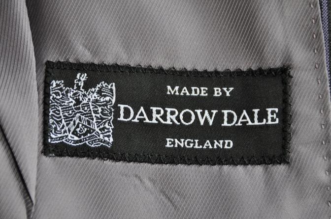 DSC07971 オーダースーツ-DARROW DALE グレーストライプ-