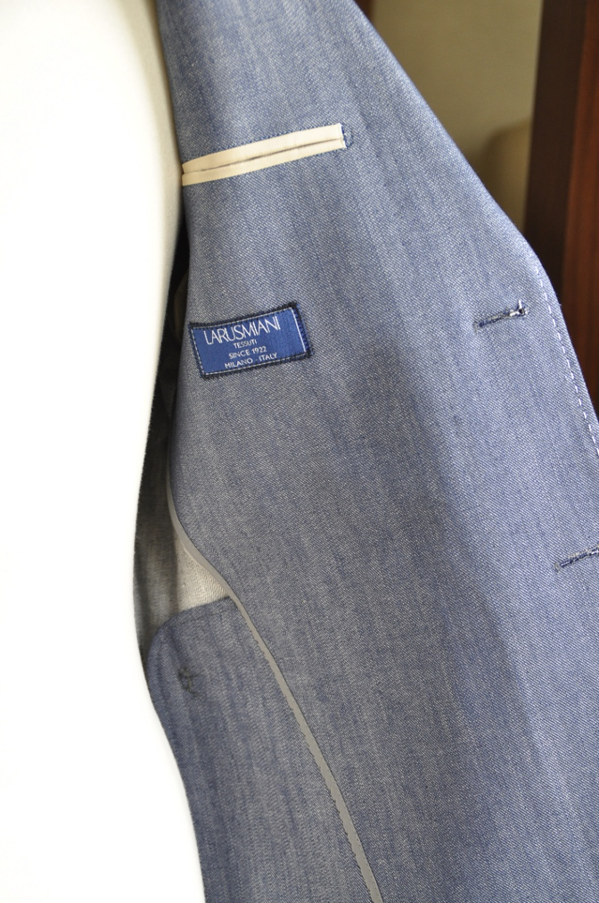 DSC08041 お客様のジャケットの紹介・デニムジャケット