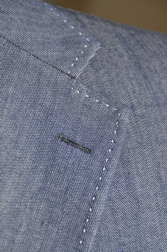 DSC08061 お客様のジャケットの紹介・デニムジャケット