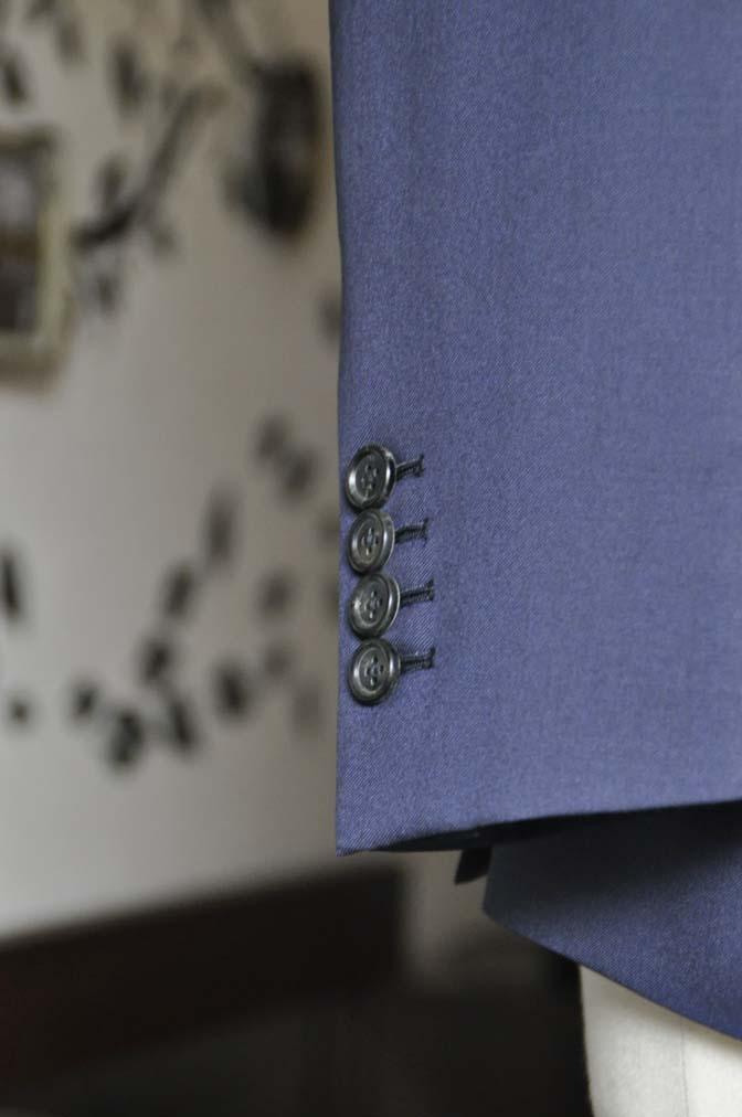 DSC0807-4 お客様のスーツの紹介-Biellesi 無地ネイビースリーピース-