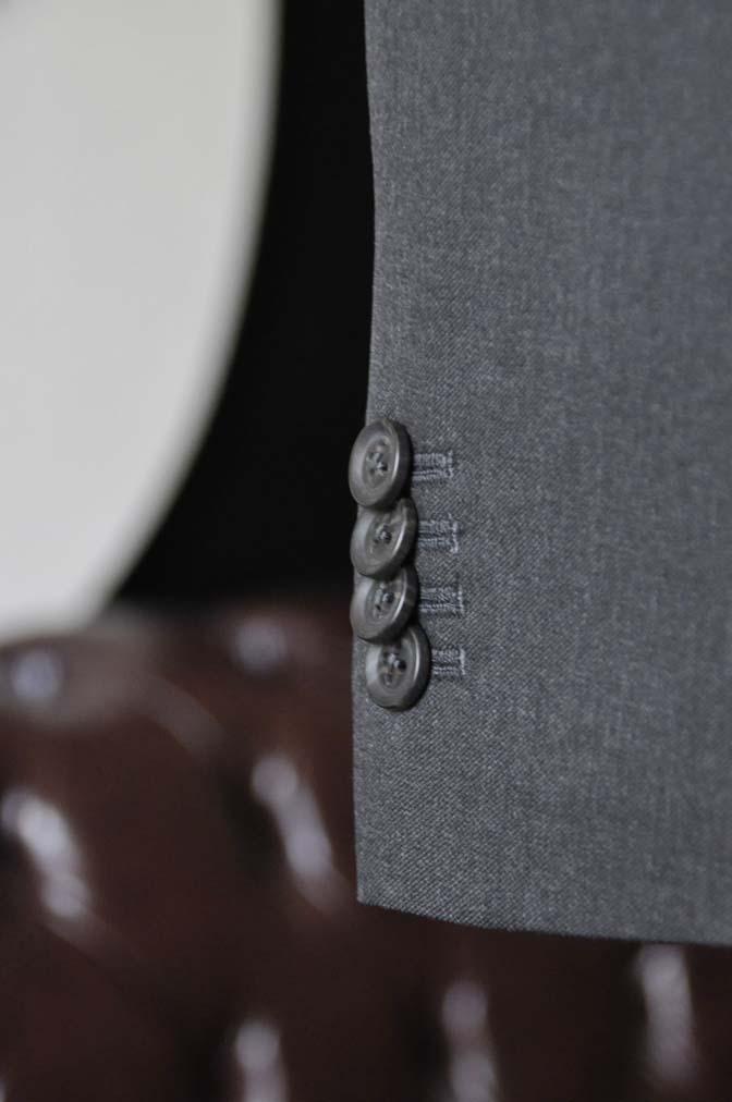 DSC0810-2 お客様のスーツの紹介-Biellesiチャコールグレースーツ-