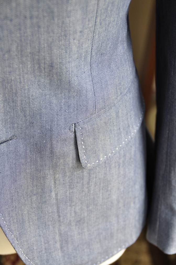 DSC0811 お客様のジャケットの紹介・デニムジャケット