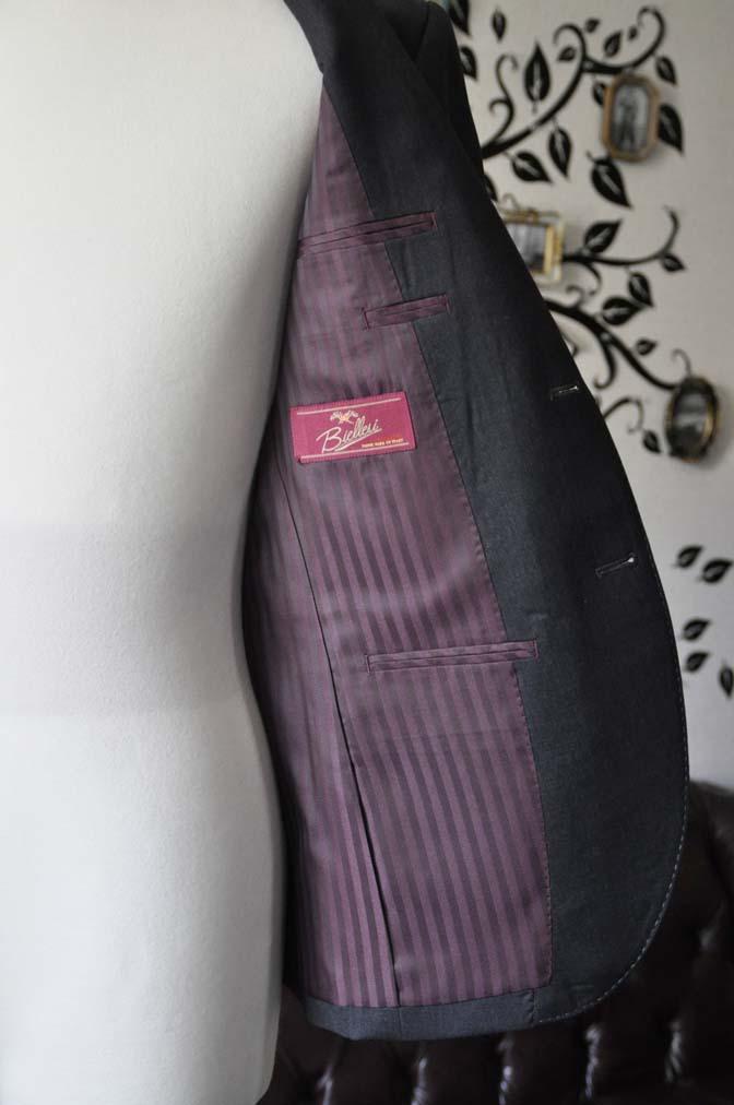 DSC0812-4 お客様のスーツの紹介-Biellesiチャコールグレースーツ-