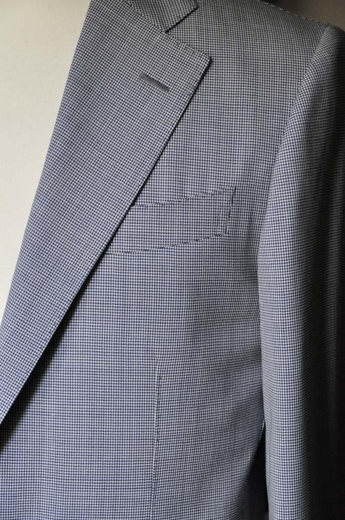 DSC0816-1 お客様のスーツの紹介- Biellesi 千鳥格子スーツ-