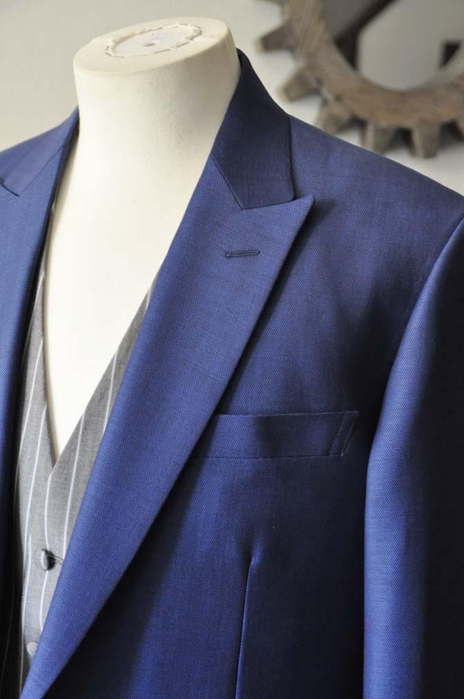 DSC0816-2 お客様のウエディング衣装の紹介-Biellesi ネイビースーツ グレーストライプベスト-DSC0816-2 お客様のウエディング衣装の紹介-Biellesi ネイビースーツ グレーストライプベスト- 名古屋市のオーダータキシードはSTAIRSへ