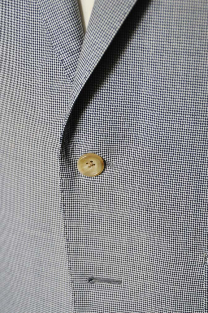 DSC0817-1 お客様のスーツの紹介- Biellesi 千鳥格子スーツ-