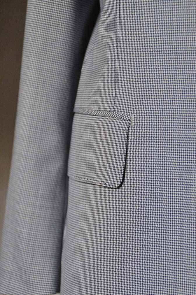 DSC0819-1 お客様のスーツの紹介- Biellesi 千鳥格子スーツ-