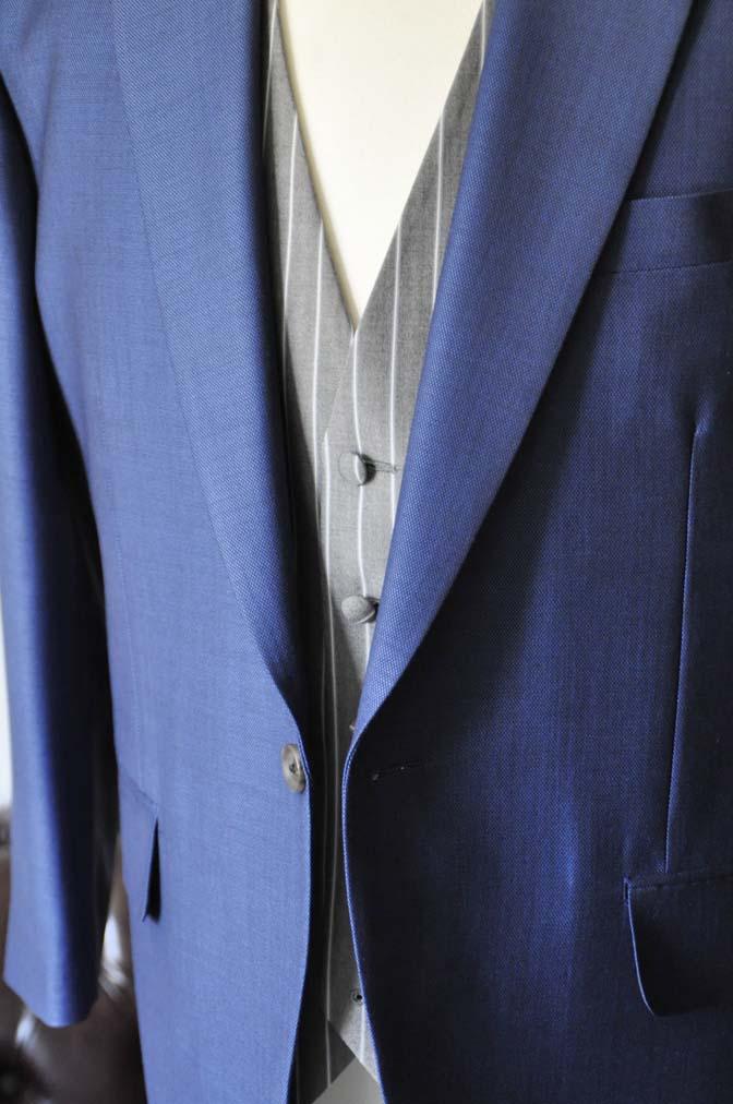 DSC0819-2 お客様のウエディング衣装の紹介-Biellesi ネイビースーツ グレーストライプベスト-DSC0819-2 お客様のウエディング衣装の紹介-Biellesi ネイビースーツ グレーストライプベスト- 名古屋市のオーダータキシードはSTAIRSへ