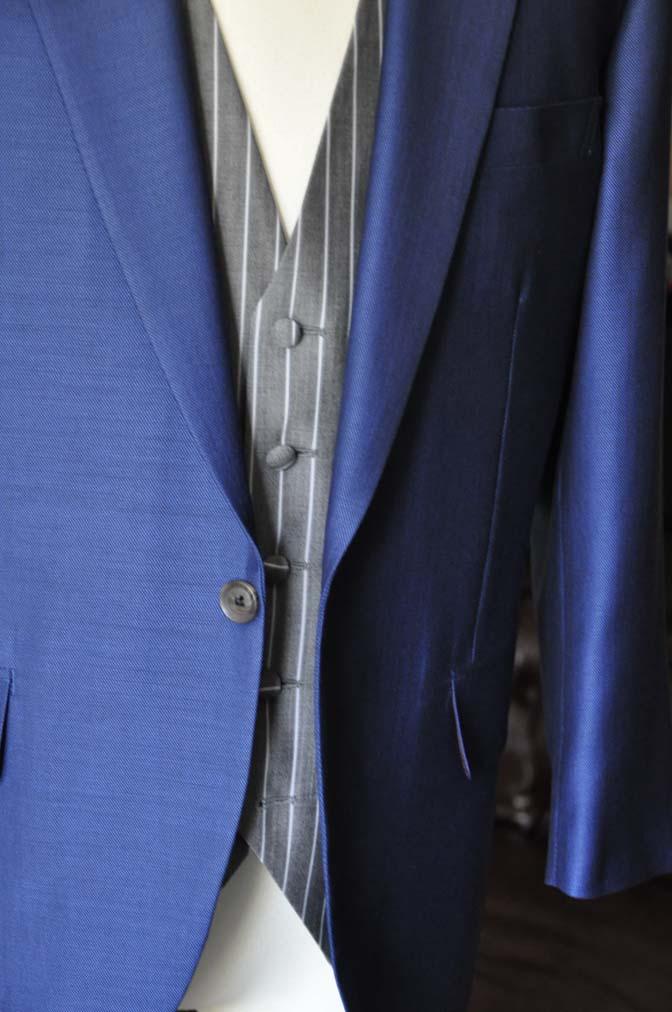 DSC0820-2 お客様のウエディング衣装の紹介-Biellesi ネイビースーツ グレーストライプベスト-DSC0820-2 お客様のウエディング衣装の紹介-Biellesi ネイビースーツ グレーストライプベスト- 名古屋市のオーダータキシードはSTAIRSへ