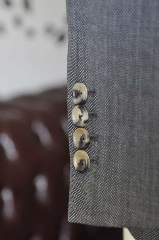 DSC0824-4 お客様のスーツの紹介-Biellesiグレーバーズアイ スーツ-