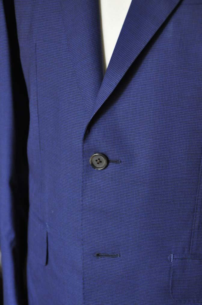 DSC0838 お客様のスーツの紹介-TALLIA DI DELFINO ネイビー千鳥格子-