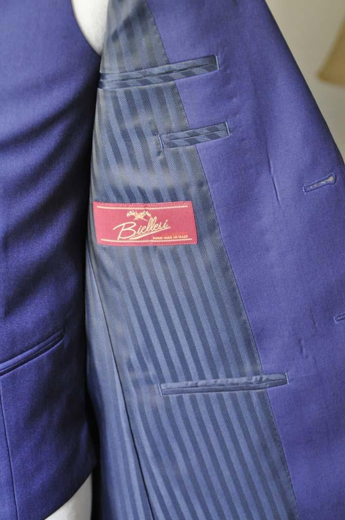 DSC0842-2 お客様のウエディング衣装の紹介-Biellesi ネイビースーツ ストライプベスト-