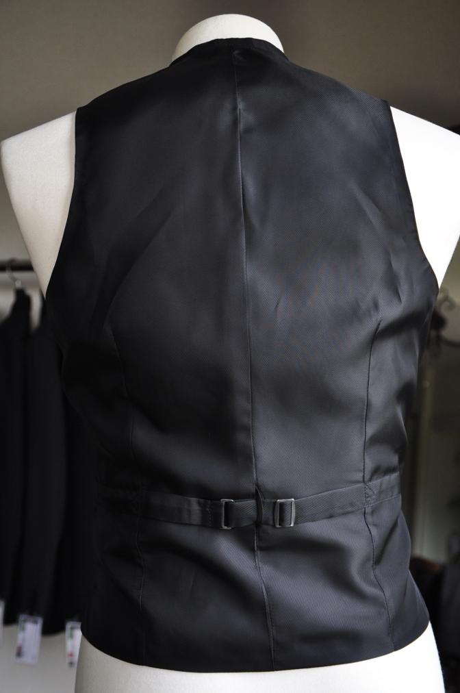 DSC0849 オーダースーツ -ブラック迷彩スリーピーススーツ-