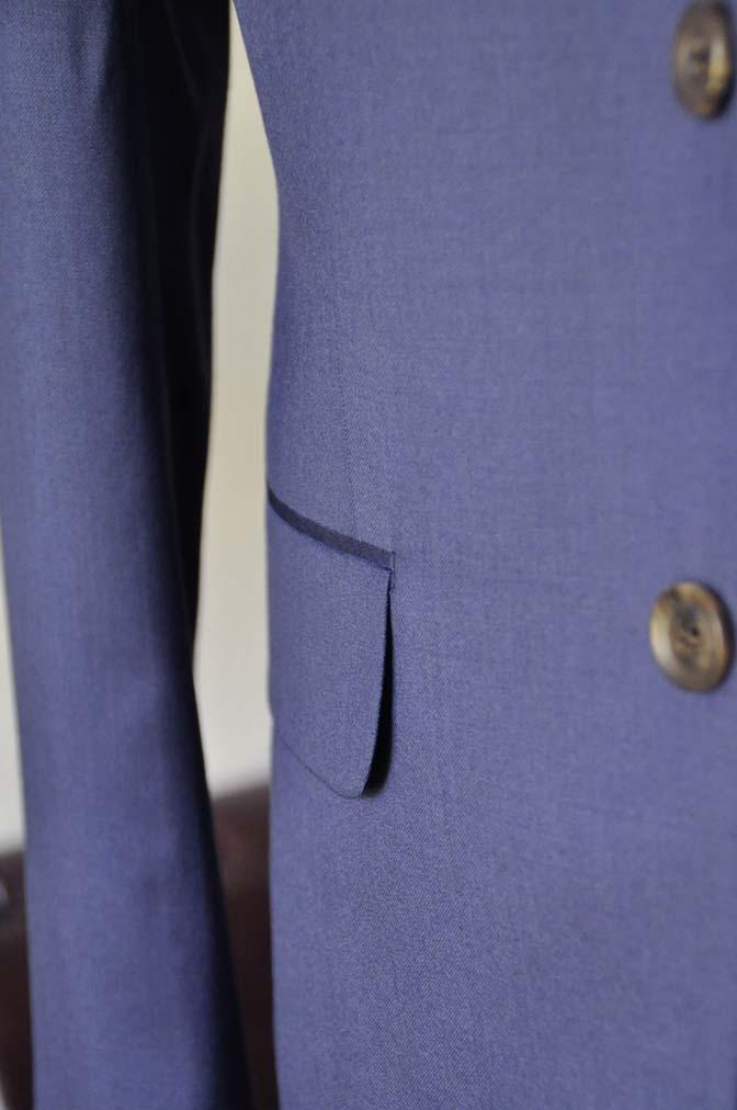 DSC0854-2 お客様のウエディング衣装の紹介-Biellesi ネイビースーツ ストライプベスト-