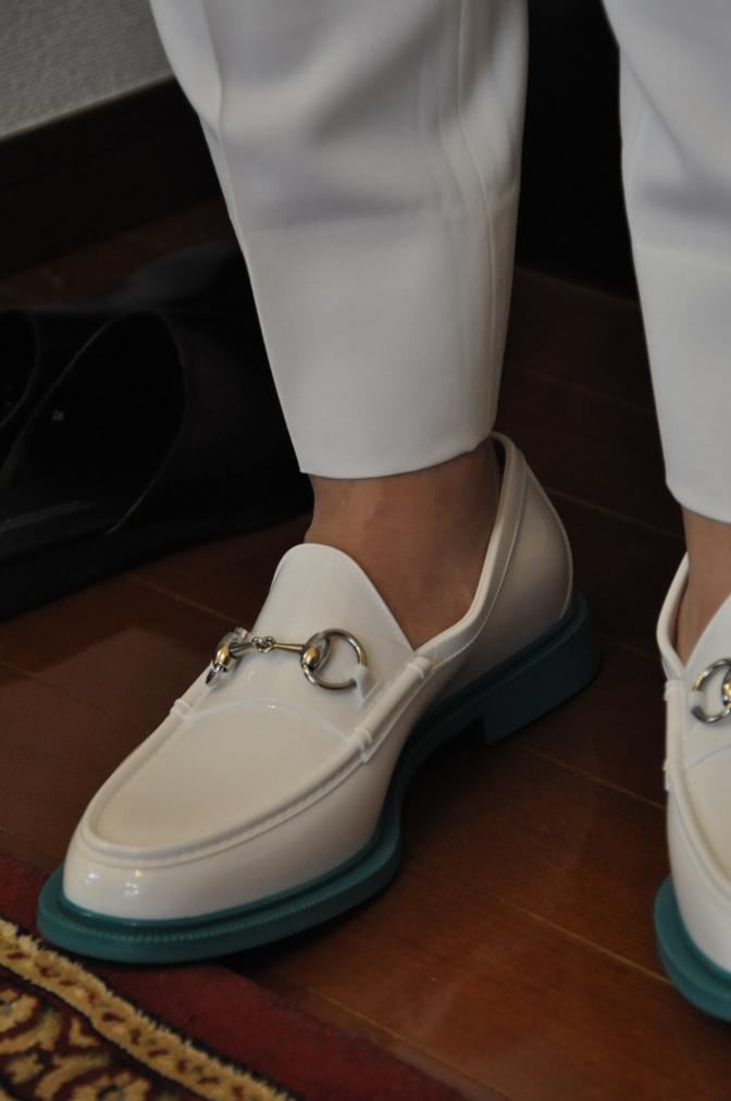 DSC08581 お客様のタキシードの紹介-ホワイト ショールカラータキシード-