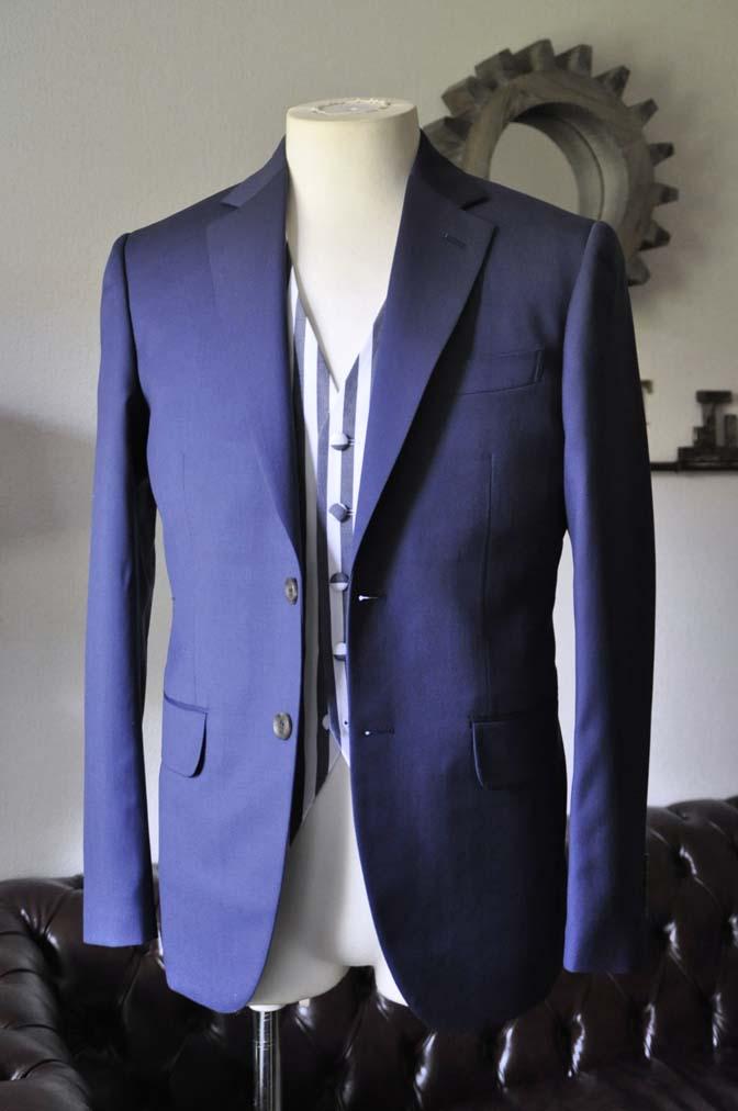 DSC0860-2 お客様のウエディング衣装の紹介-Biellesi ネイビースーツ ストライプベスト-