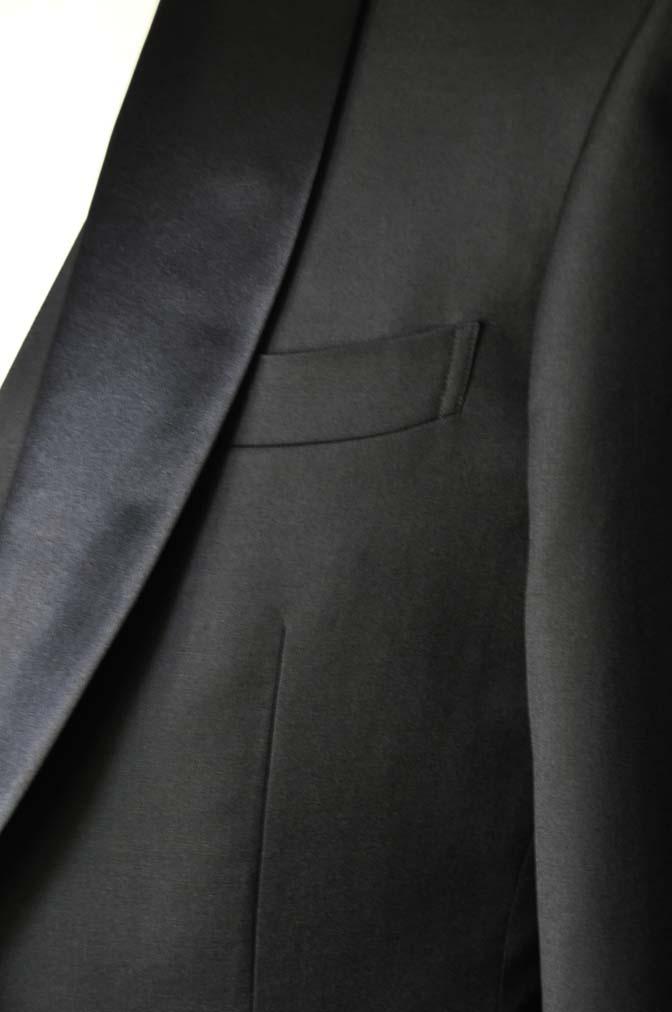 DSC0876-2 お客様のタキシードの紹介- Biellesiブラックショールカラータキシード-