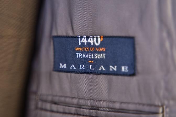 DSC08836 オーダースーツの紹介-MARLANE 1440ブラウンスリーピーススーツ-