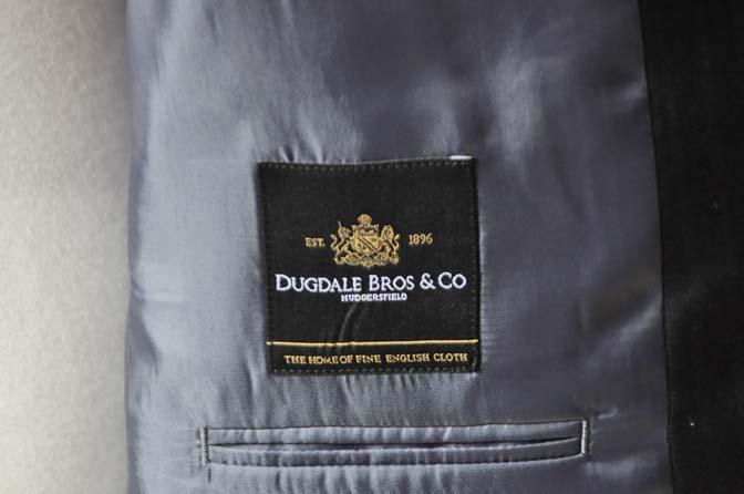 DSC0891-5 お客様のスーツの紹介-DUGDALEブラックストライプスーツ- 名古屋の完全予約制オーダースーツ専門店DEFFERT