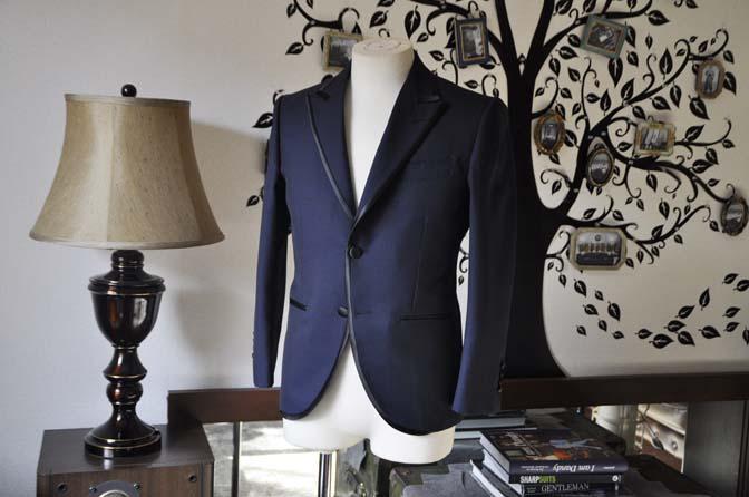 DSC0894-3 お客様のジャケットの紹介-DARROW DALEネイビーパイピングジャケット、ブラックウォッチパンツ-