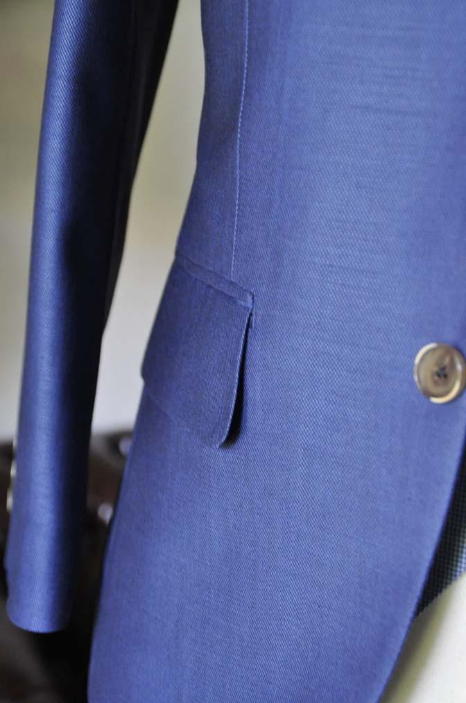 DSC0895-2 お客様のハワイウエディング衣装の紹介- ネイビージャケット、ブルー千鳥格子ベスト、ホワイトパンツ- 名古屋の完全予約制オーダースーツ専門店DEFFERT